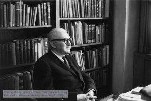 Louis L. Thurstone (1887-1955), the Charles F. Grey Distinguished Service Professor of Psychology at the University of Chicago.