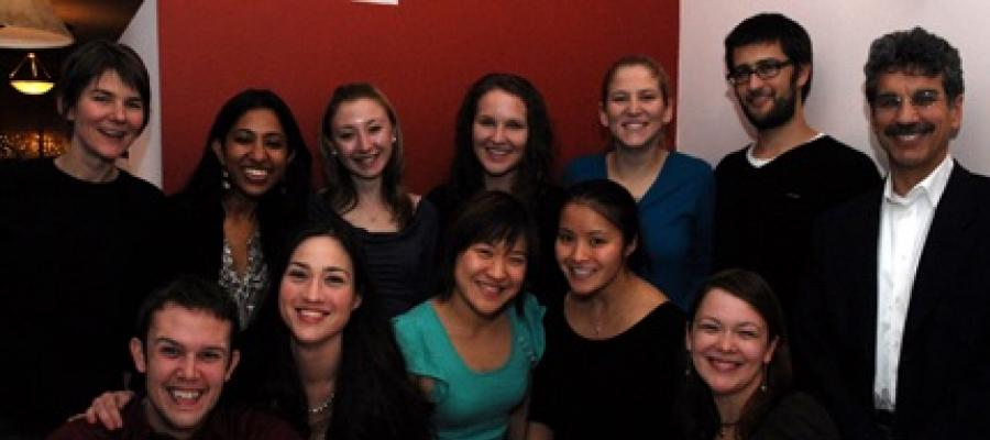 A picture of the Social Psychology Program at the end of the Fall Quarter, 2007.